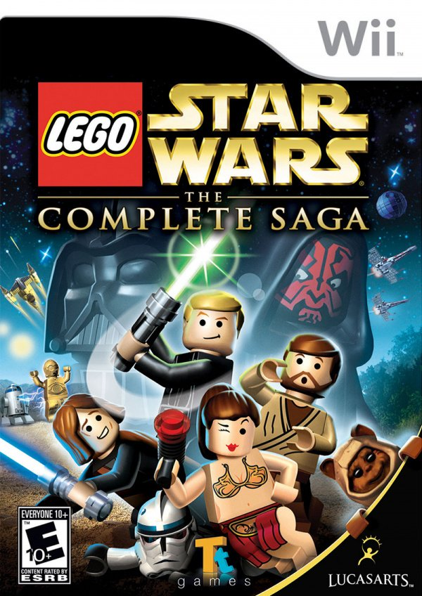 LEGO Star Wars: The Complete Saga Cover Artwork