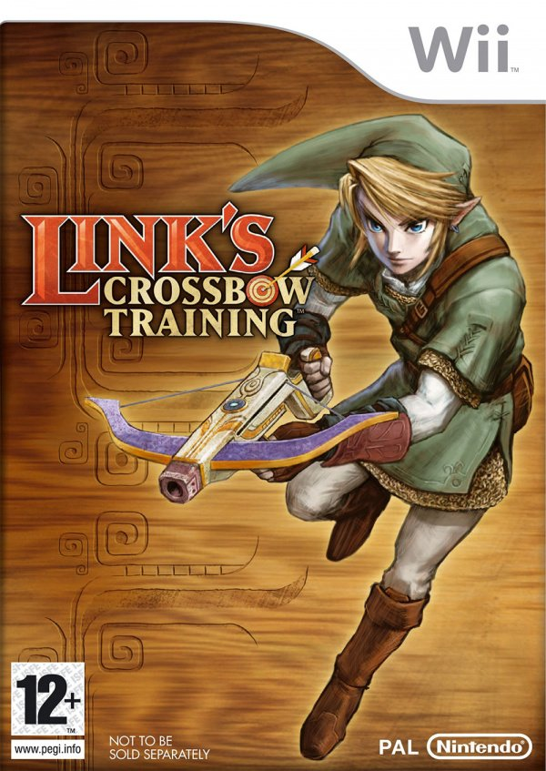 Link's Crossbow Training Cover Artwork