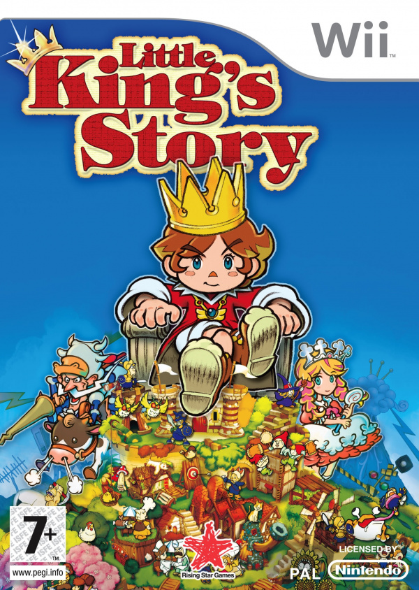 Little King's Story Cover Artwork