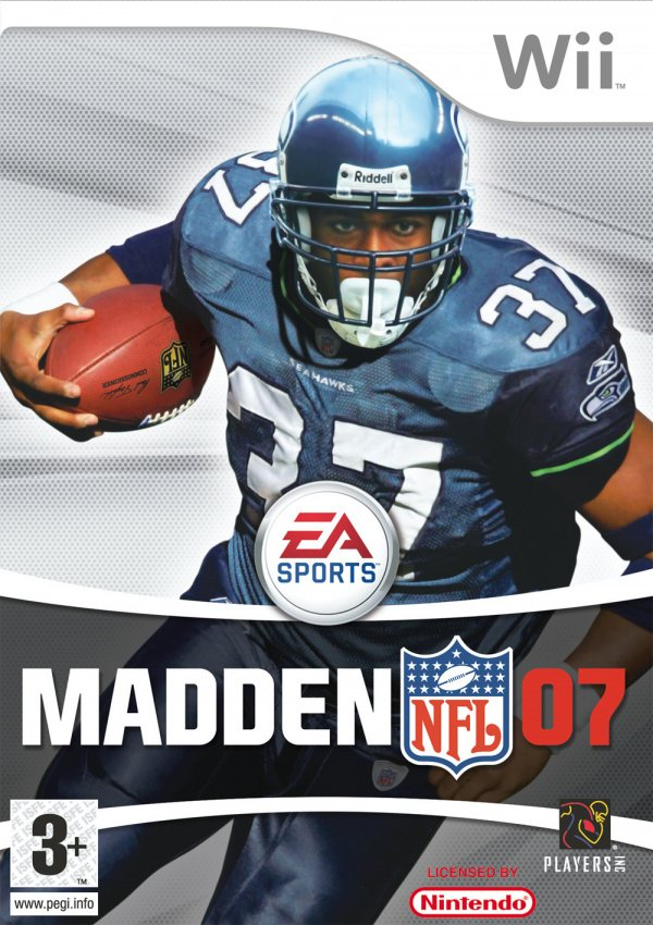 Madden NFL 07 Cover Artwork