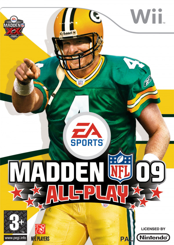 Madden NFL 09 All-Play Cover Artwork