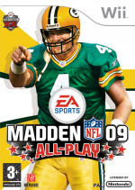 Madden NFL 09 All-Play Cover (Click to enlarge)