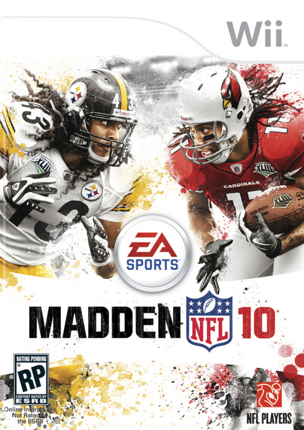 Madden NFL 10 Cover Artwork