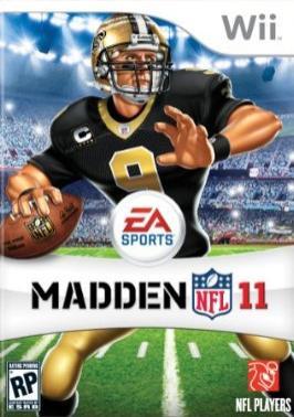 Madden NFL 11 Cover Artwork