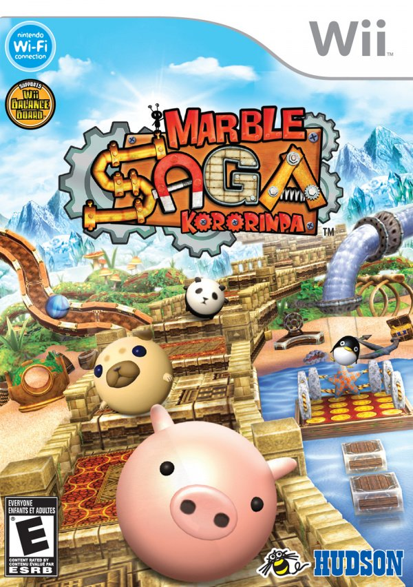 Marble Saga: Kororinpa Cover Artwork