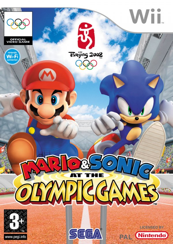 Mario & Sonic at the Olympic Games Cover Artwork