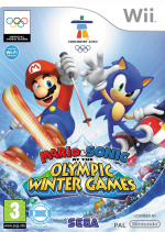 Mario & Sonic at the Olympic Winter Games Cover (Click to enlarge)