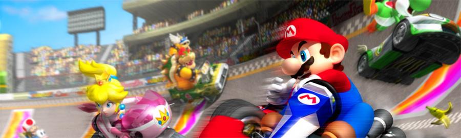 4. Mario Kart Wii