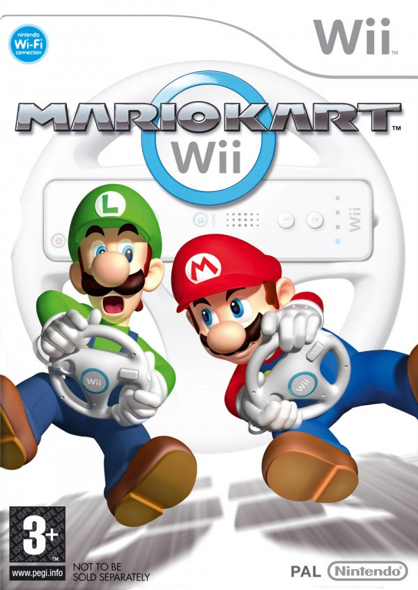 Mario Kart Wii Cover Artwork