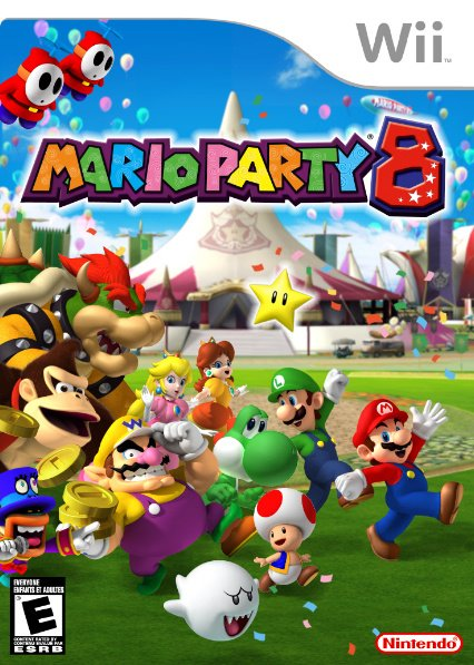 Mario Party 8 Cover Artwork