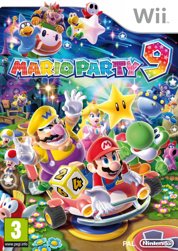Mario Party 9 Cover Artwork