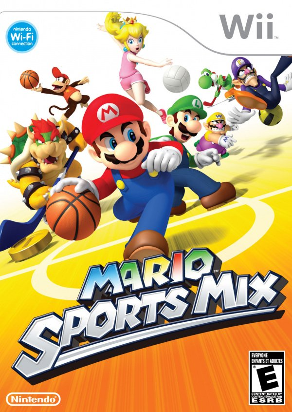 Mario Sports Mix Cover Artwork