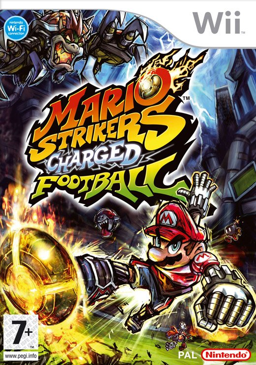 Mario Strikers Charged Cover Artwork