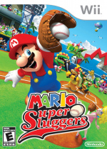 Mario Super Sluggers Cover (Click to enlarge)