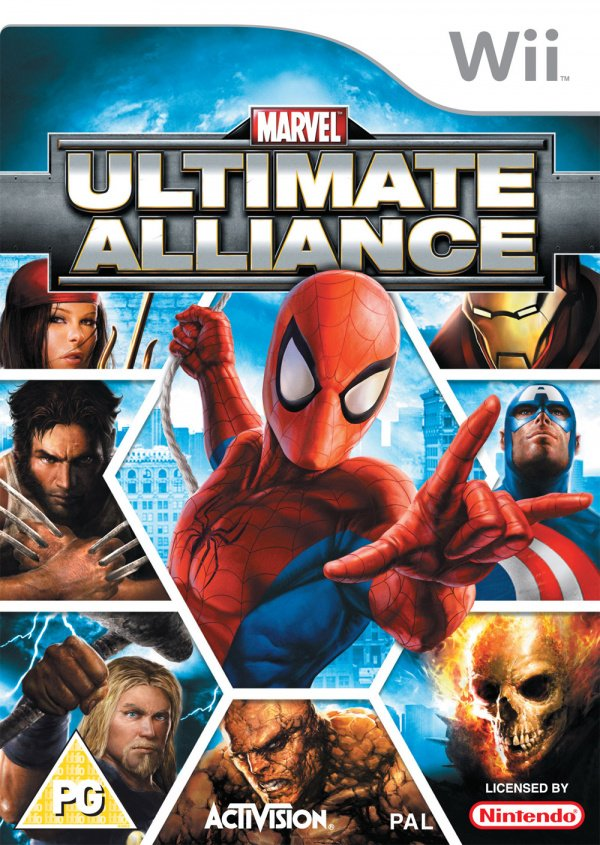 Marvel: Ultimate Alliance Cover Artwork