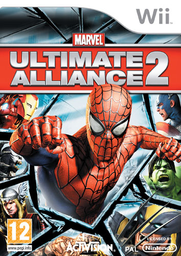 Marvel Ultimate Alliance 2 Cover Artwork