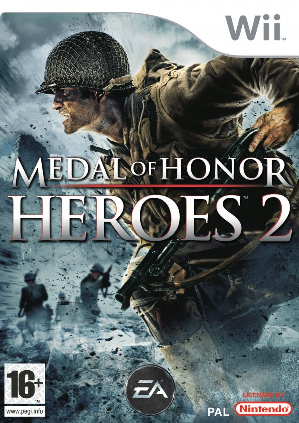 Medal of Honor: Heroes 2 Cover Artwork