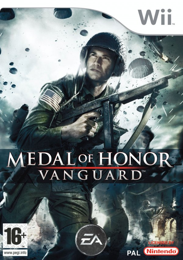Medal of Honor: Vanguard Cover Artwork