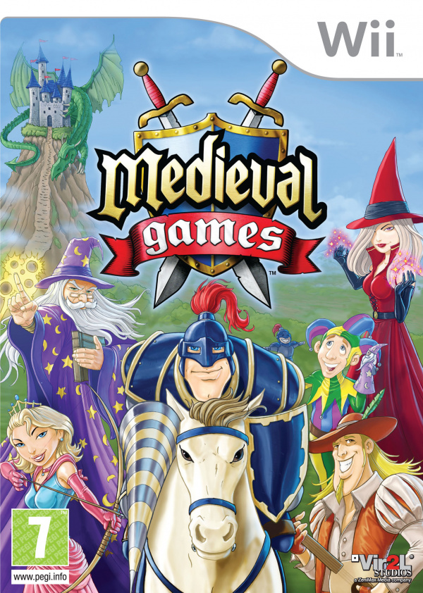 Medieval Games Cover Artwork