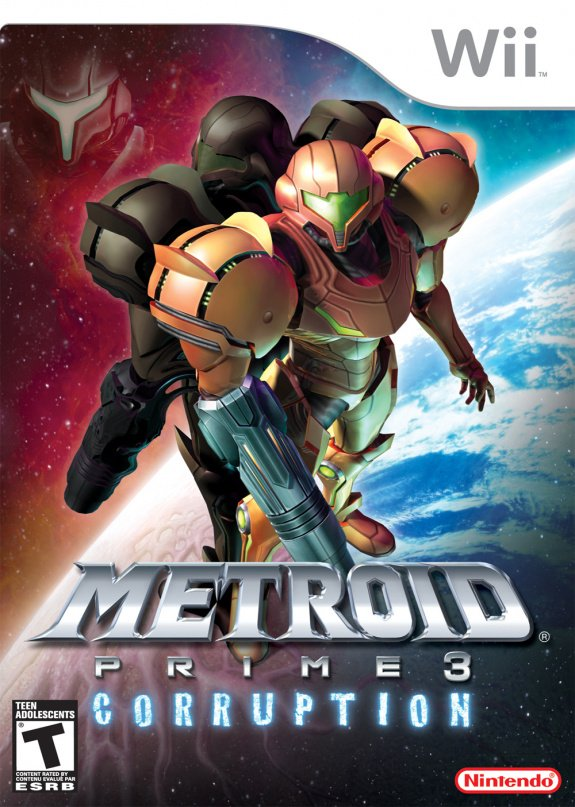 Metroid Prime 3 Corruption Cover Artwork