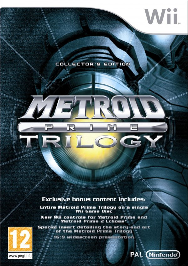 Metroid Prime Trilogy Cover Artwork