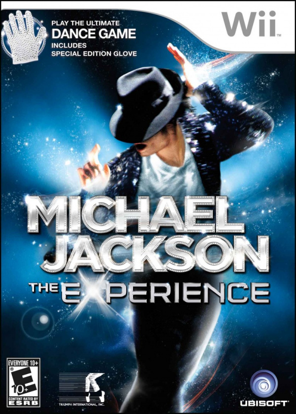 Michael Jackson: The Experience Cover Artwork
