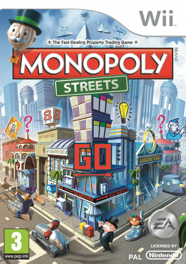 Monopoly Streets Cover Artwork