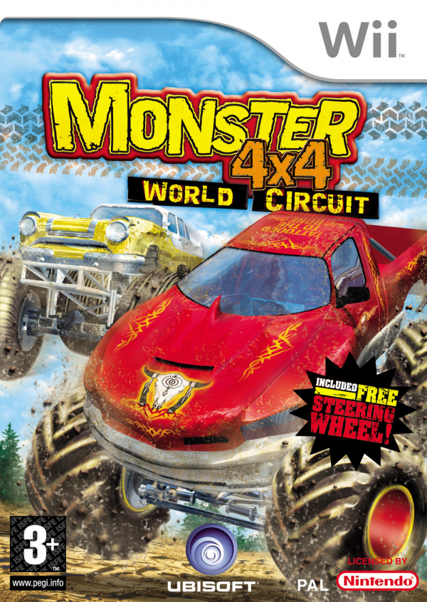 Monster 4X4 World Circuit Cover Artwork