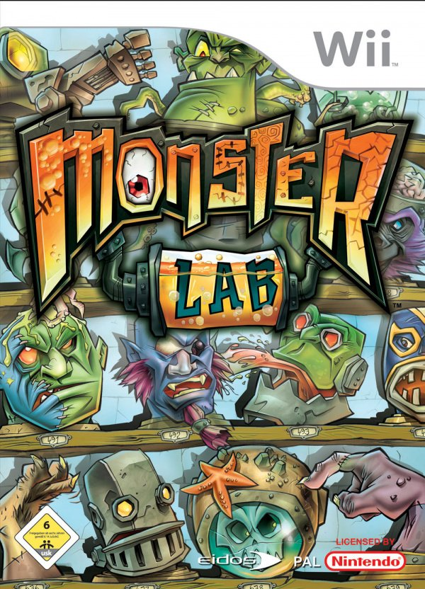 Monster Lab Cover Artwork