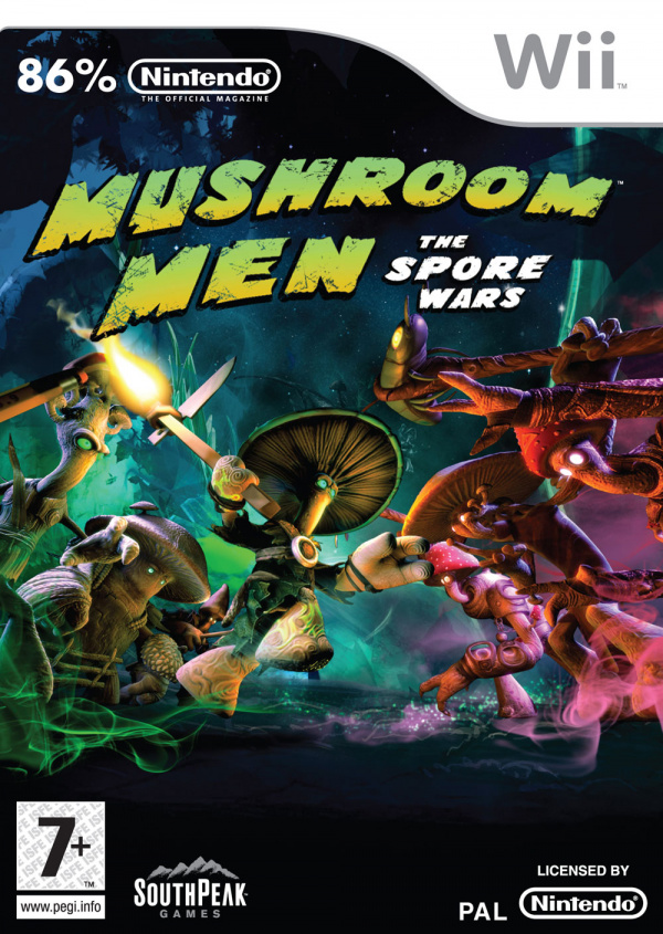 Mushroom Men: The Spore Wars Cover Artwork