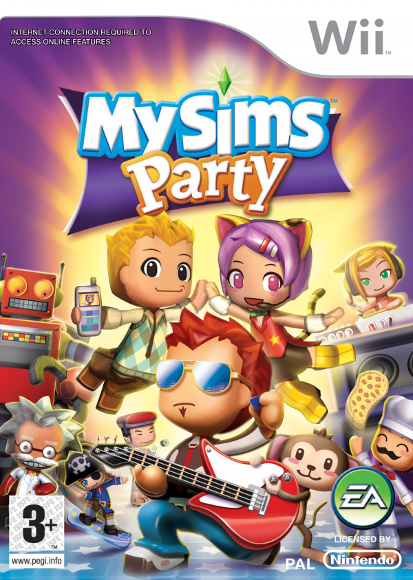 MySims Party Cover Artwork