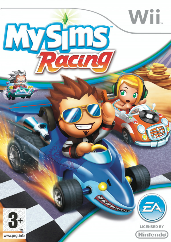 MySims Racing Cover Artwork