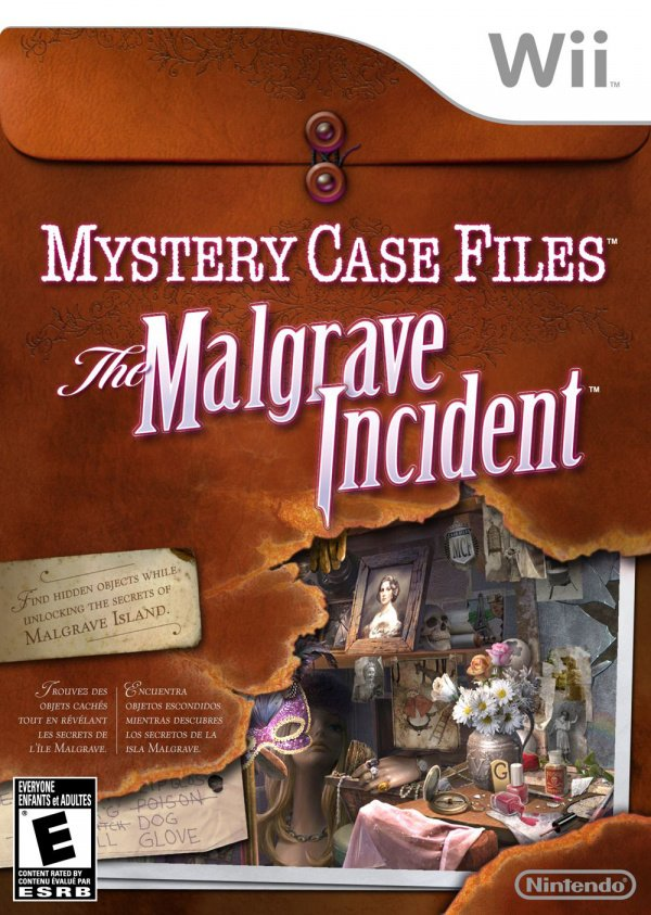 Mystery Case Files: The Malgrave Incident Cover Artwork