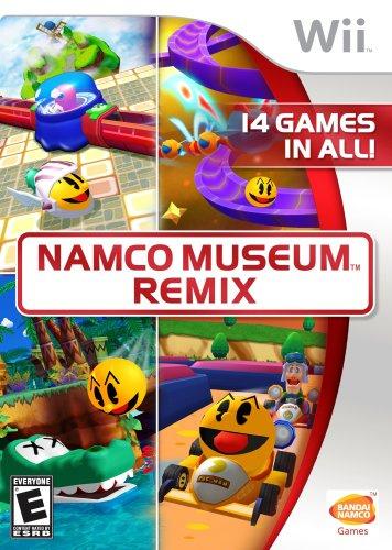 Namco Museum Remix Cover Artwork