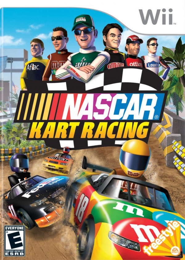 NASCAR Kart Racing Cover Artwork
