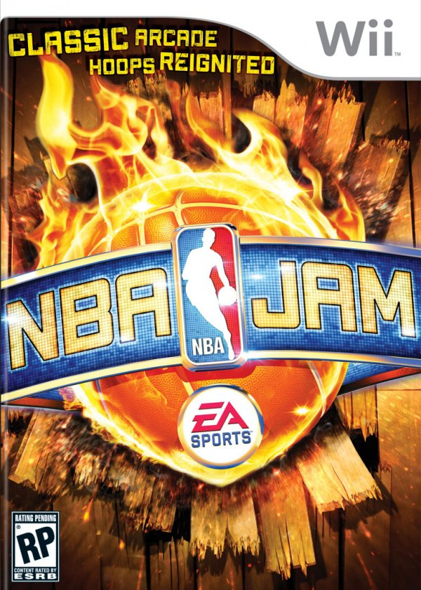 NBA Jam Cover Artwork