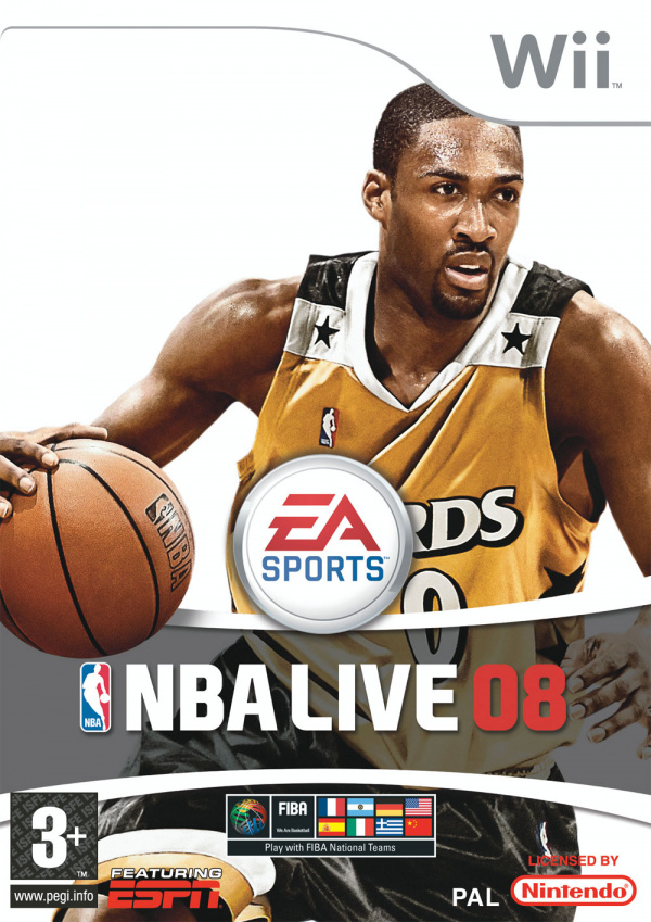 NBA Live 08 Cover Artwork