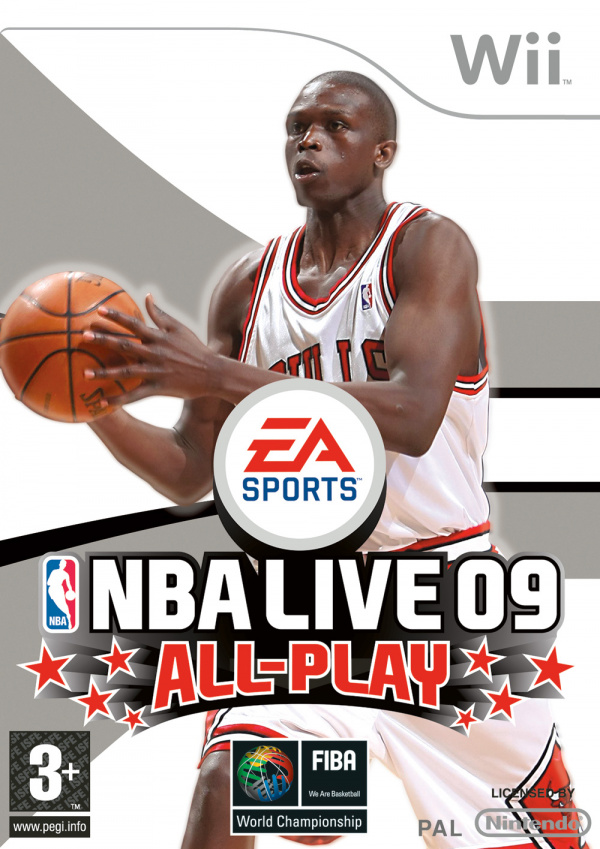 NBA Live 09 All-Play Cover Artwork