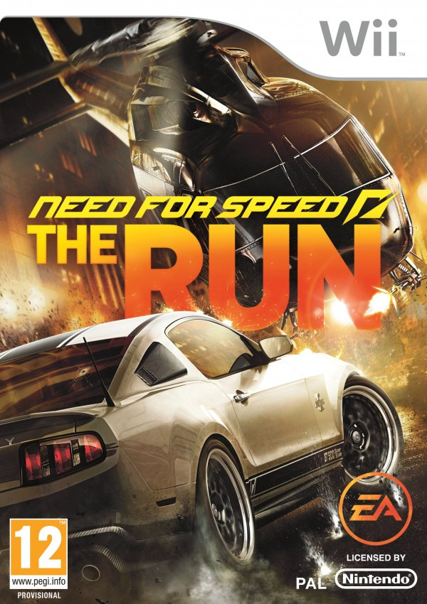 Need for Speed: The Run Cover Artwork