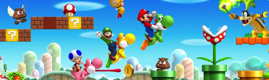 9. New Super Mario Bros. Wii — Wii