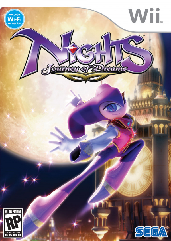 NiGHTS: Journey of Dreams Cover Artwork