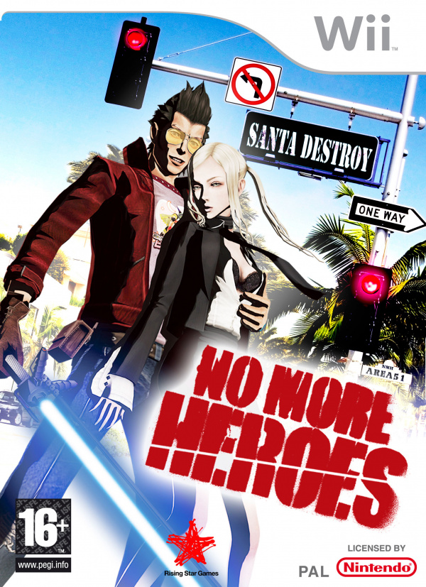 No More Heroes Cover Artwork