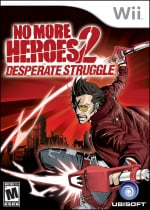 No More Heroes 2: Desperate Struggle Cover (Click to enlarge)