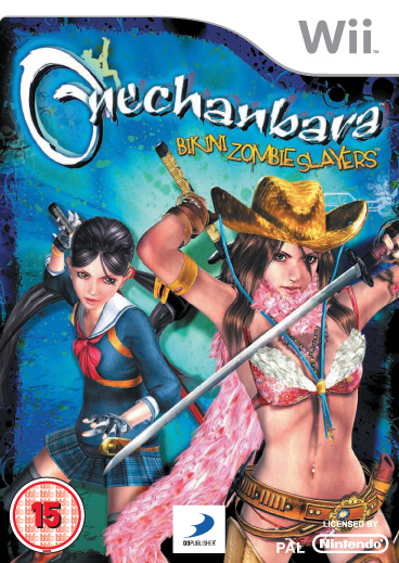 Onechanbara: Bikini Zombie Slayers Cover Artwork