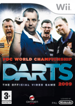 PDC World Championship Darts 2009 Cover (Click to enlarge)