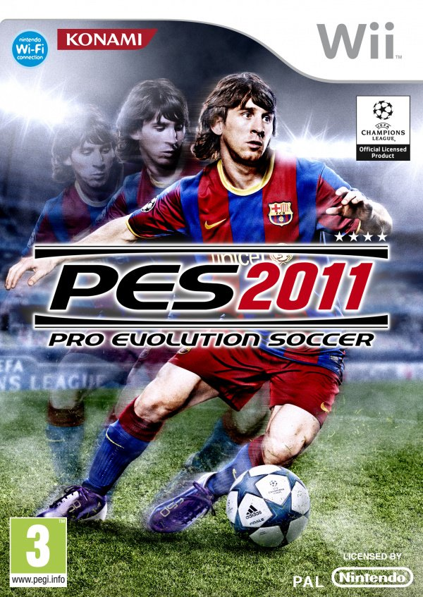 PES 2011 Cover Artwork