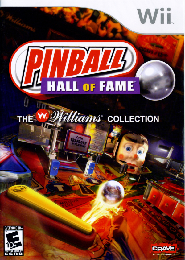Pinball Hall of Fame - The Williams Collection Cover Artwork