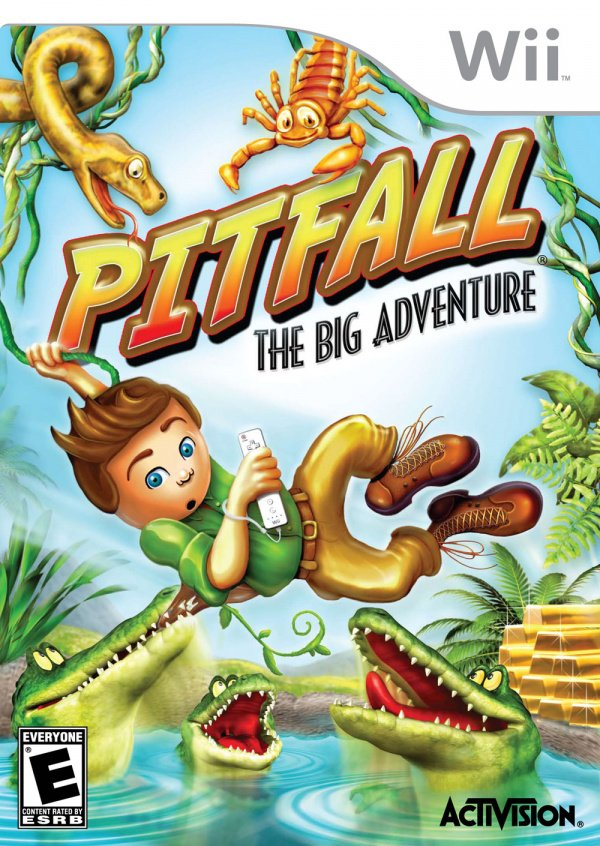 Pitfall: The Big Adventure Cover Artwork