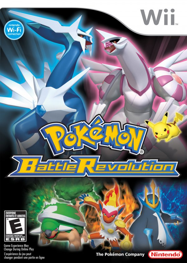 Pokémon Battle Revolution Cover Artwork