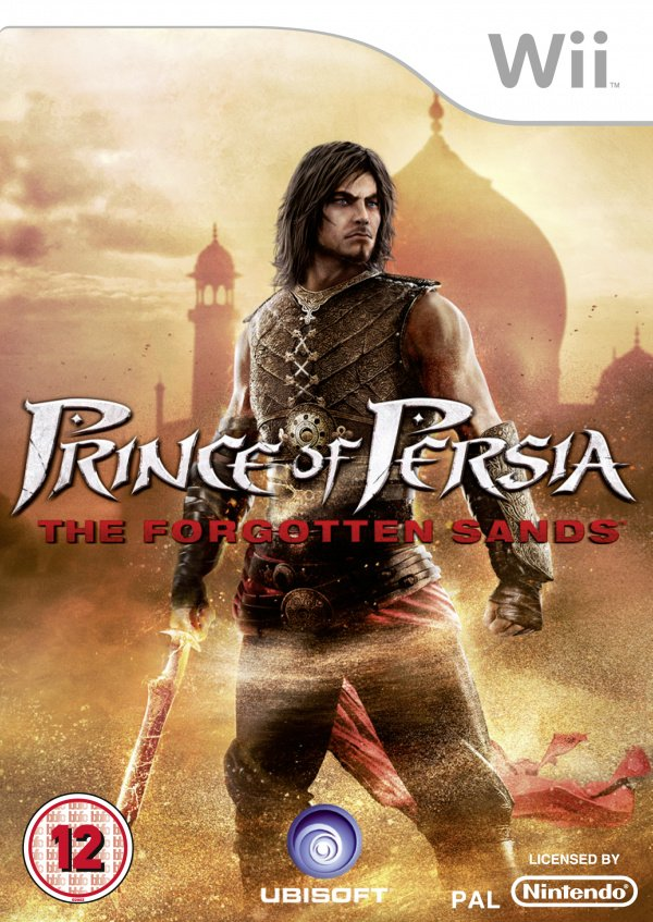 Prince of Persia: The Forgotten Sands Cover Artwork